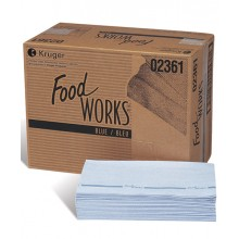Food Works, Blue-White
