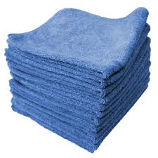 Microfibre Cloth Blue 14X14