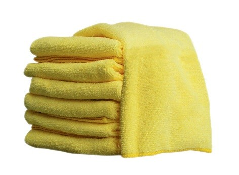 Microfibre Cloth Yellow 14X14