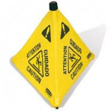 Wet Floor Sign Collapsible 30""