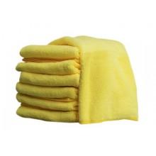 Microfibre Cloth Yellow 14X14